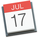 Apple calendar icon