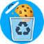 Cookie automatic delete icon