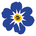 Forget me not icon