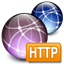 Graphic HTTP client icon