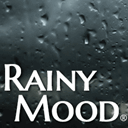 Rainy mood icon