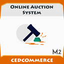 Online auction system icon