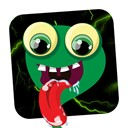 Animated cute monsters icon