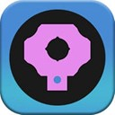 Circle Dragger - Beware of the black dot icon and obstacles
