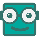 Stand-up buddy icon