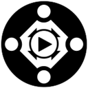 Accessible HTML5 video player icon