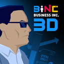 3d icon of Business Inc.