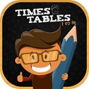 Times tables multiplication icon
