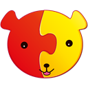Puzzles icon for children