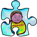Puzzle games for children icon