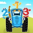 The Blue Tractor: Games for Kids icon