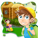 Toddler Kids Puzzles Educational Learning Games Icon