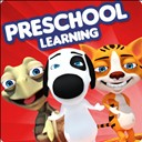 Preschool kids ABC 3D learning icon