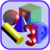 Discover 3D Shapes in SimTown