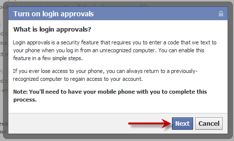 turn-on-login-approvals facebook