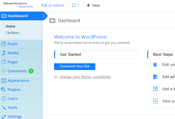 Rebrand WordPress Theme Plugins