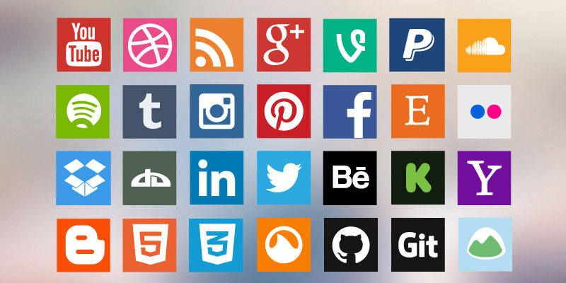 Social Media Widget for WordPress Sidebar3