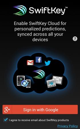 SwiftKey-Keyboard app