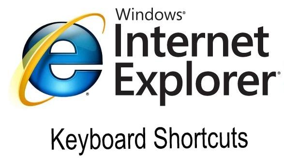 Internet Explorer keyboard shortcuts - A complete list of