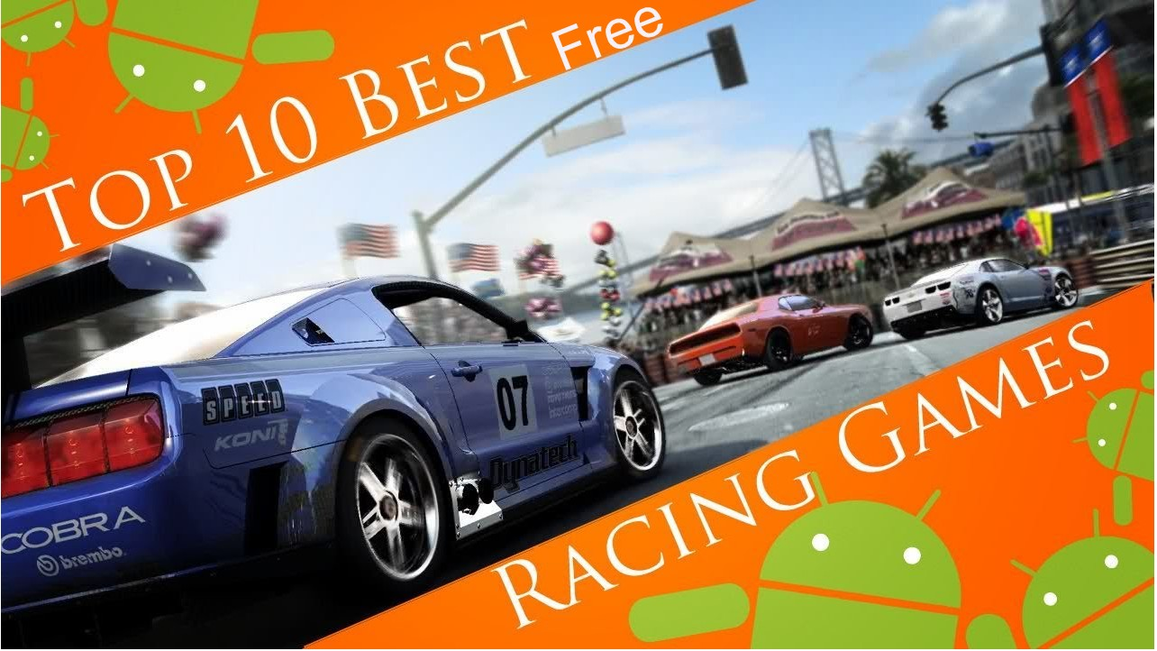 top 10 free android racing games