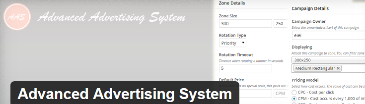 Advanced-Advertising-System-WP plugin