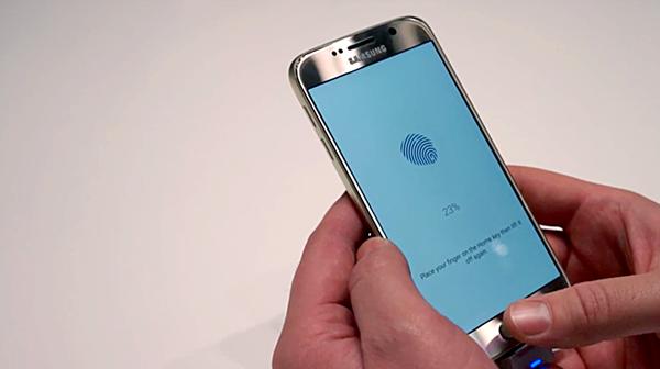 samsung-galaxy-S6 thumb scanner