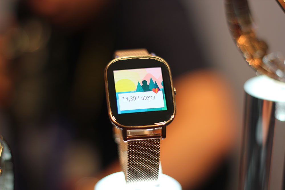 Asus ZenWatch 2 looks a lot like the Apple SmartWatch, Runs Android
