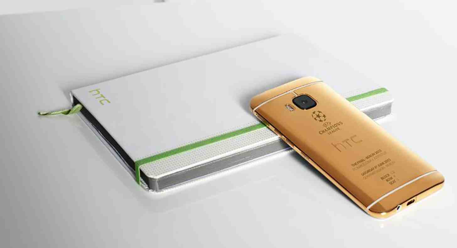 HTC Introduced Limited Edition 24 Karat Gold HTC One M9