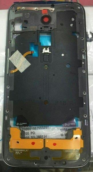 Moto X 3rd Gen Shows Fingerprint Sensor On Rear
