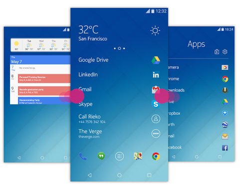 Nokia Z Launcher For Android Updated With Widget Support