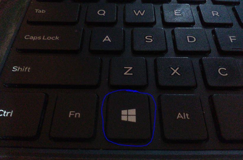 How to enable keyboard window key