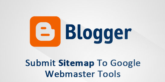 How to submit blogger sitemap to google webmaster tools