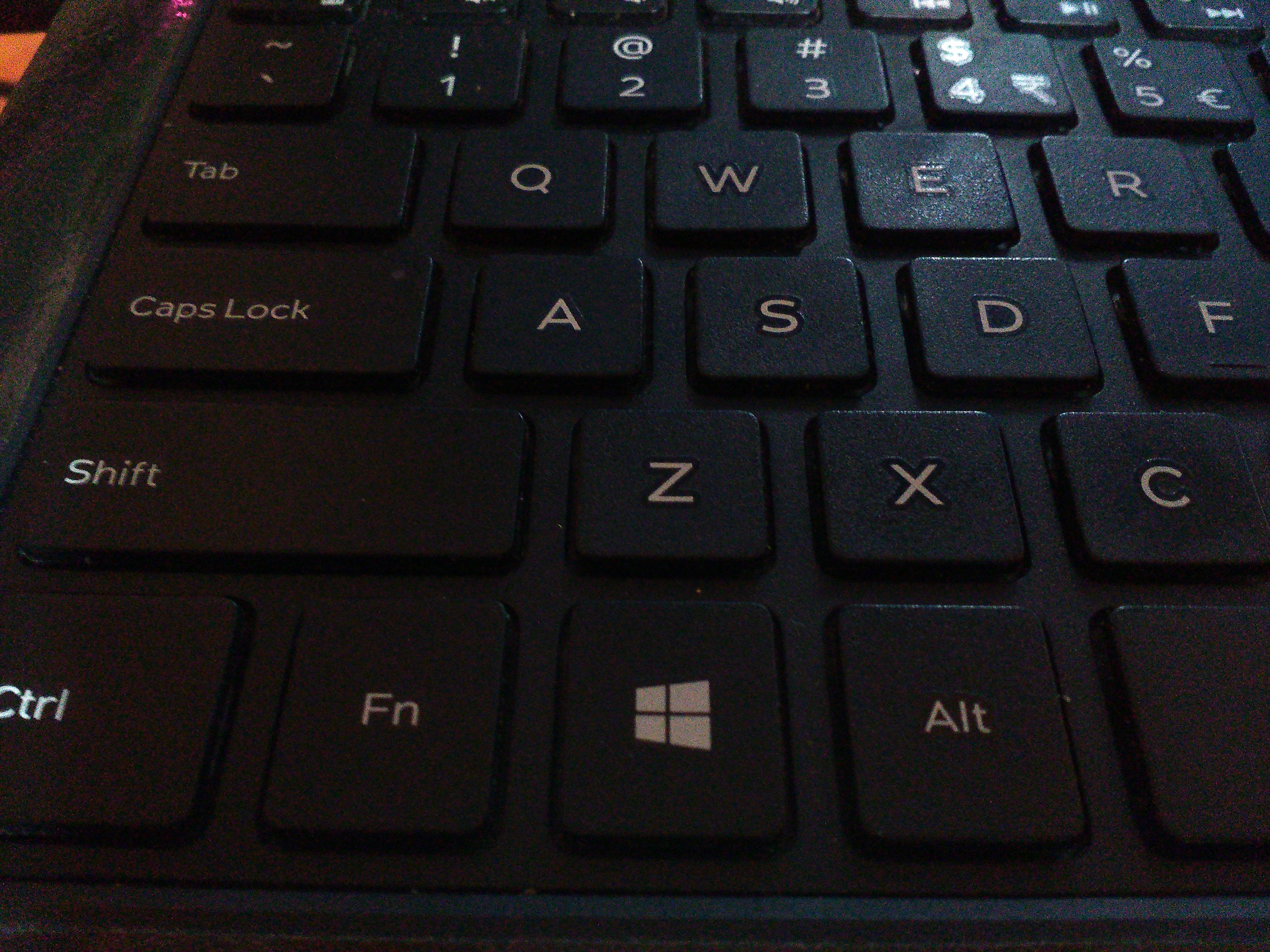 How to disable keyboard Windows key
