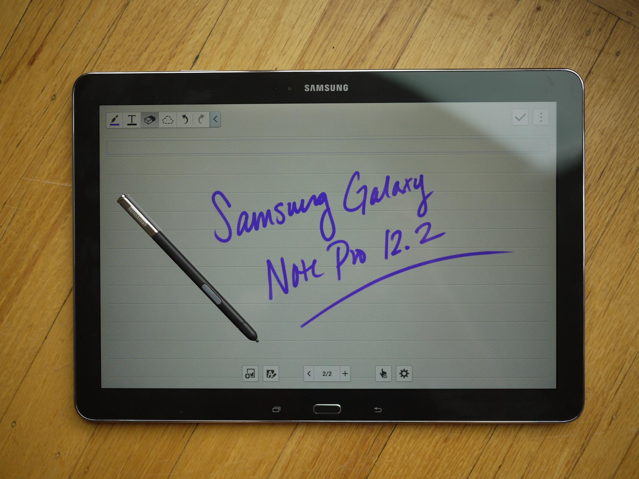 Samsung Galaxy Note Pro12.2 LTE Verdict