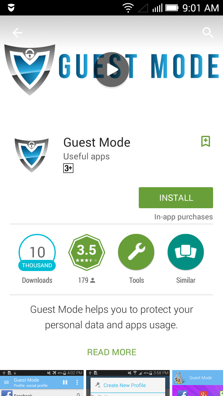 How to add a guest mode for any android - Compsmag