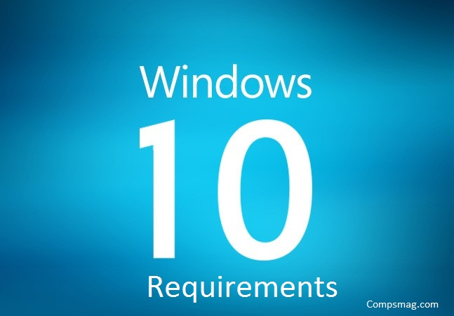 Windows 10 requirements