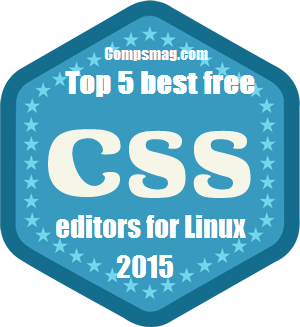 Top 5 best free CSS editors for Linux 2015