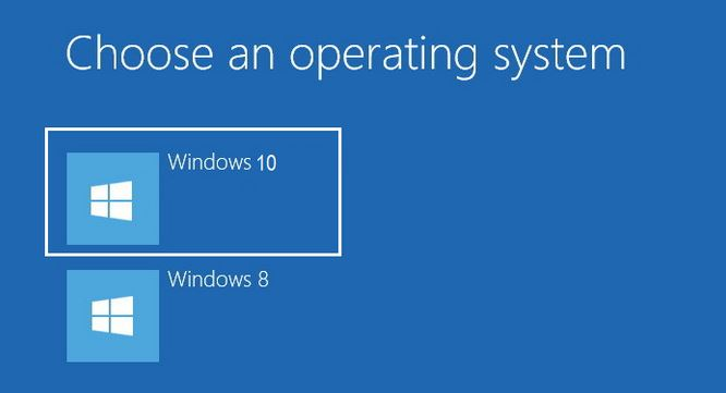 How to dual boot windows 10 with windows 8