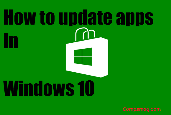 How to update apps In Windows 10 2015