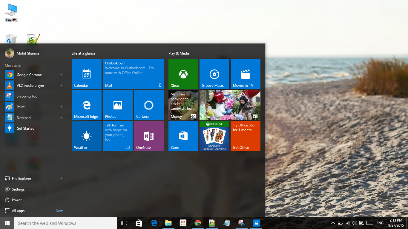 How to make your start menu faster in Windows 10