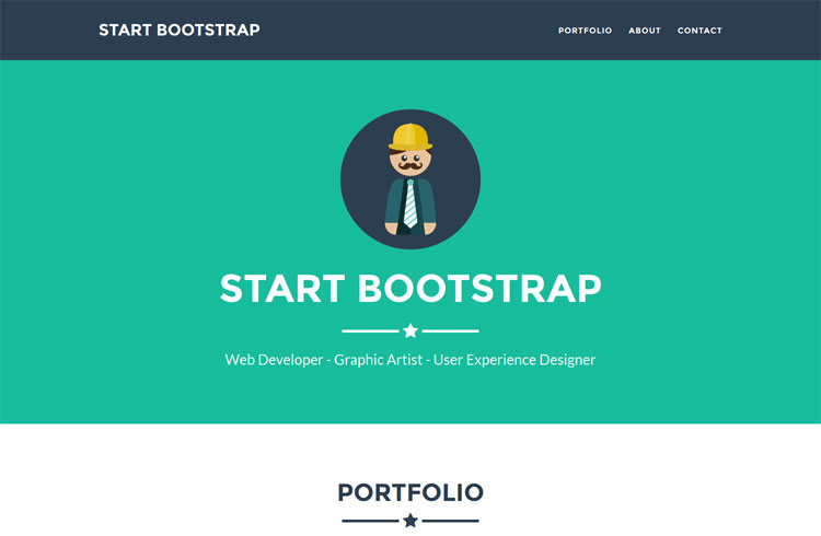 Simple: WordPress Starter Bootstrap Theme
