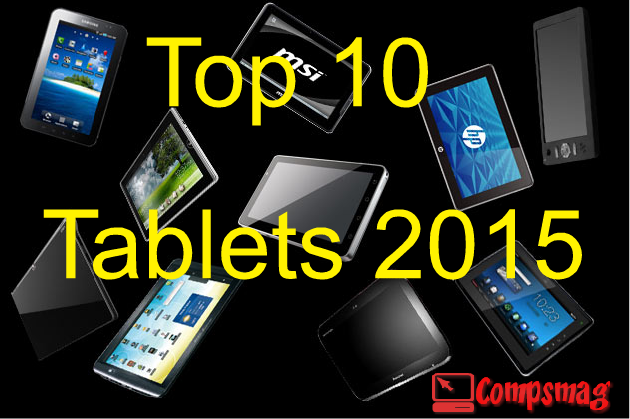 Top 10 Tablets 2015