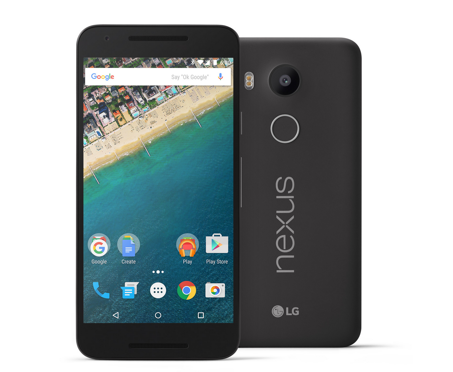 Google Nexus 5X design