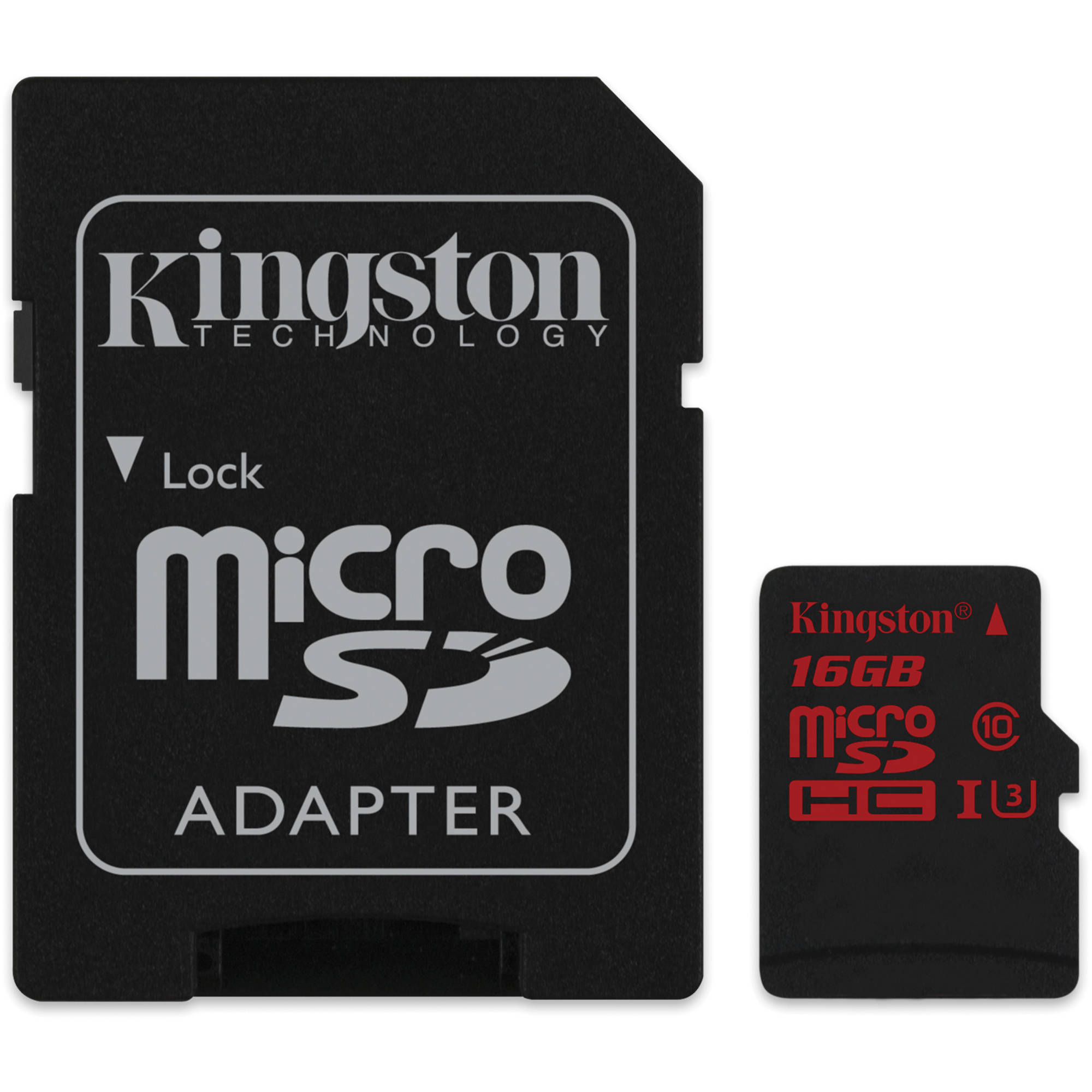 Kingston 16GB UHS-I U3 microSDHC Memory Card