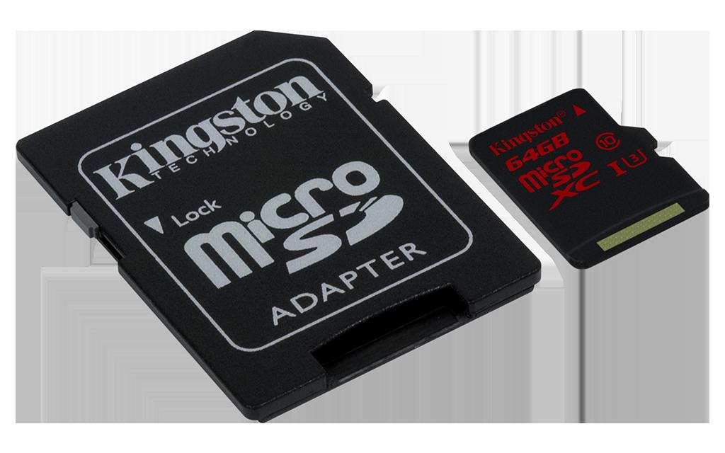 Kingston 32GB UHS-I U3 microSDHC Memory Card