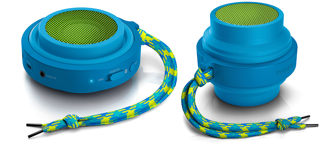 Philips Flex Bluetooth Speaker Design