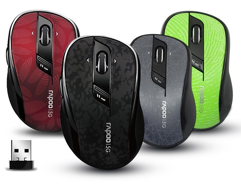 Rapoo 7100P Wireless Optical Mouse