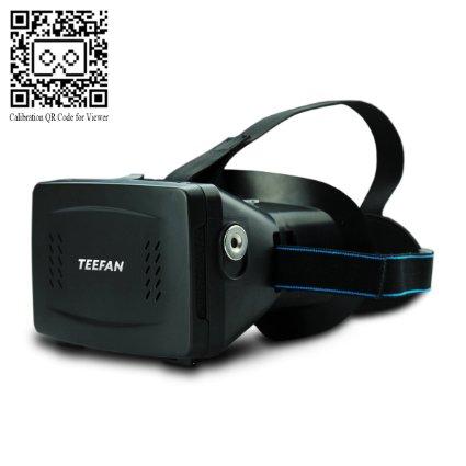 Teefan Plastic Google Cardboard Headset