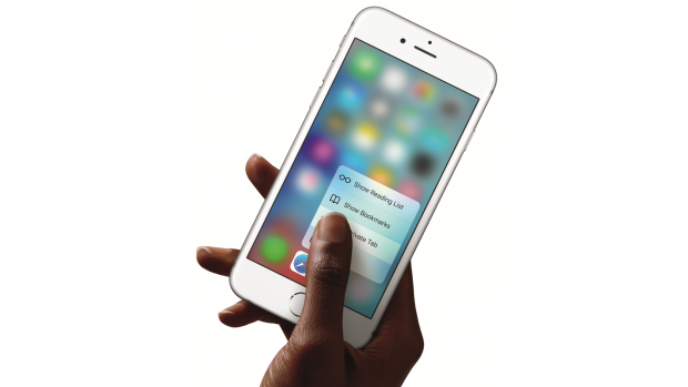 Apple iPhone 6s plus- 3D touch