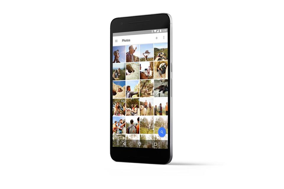 Google Nexus 6P- display